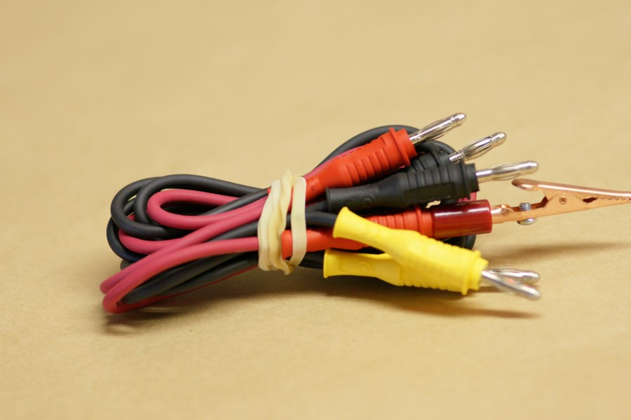 3-Wire Color Coded Cord Set (3-1/2\' Length)