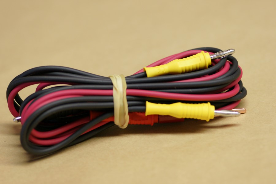 3-Wire Color Coded Cord Set (6\' Length)