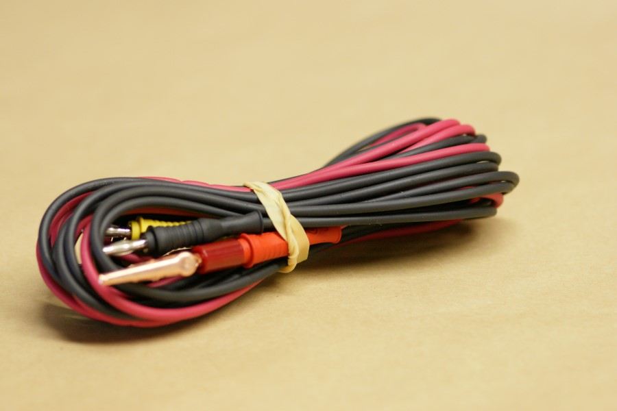 3-Wire Color Coded Cord Set (8\' Length)